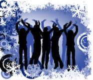 Winter design Stock Photography