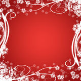 Winter design. Beautiful winter vector floral design Royalty Free Stock Image