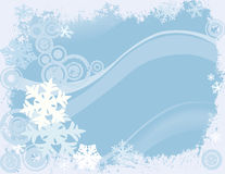 Winter design Stock Image
