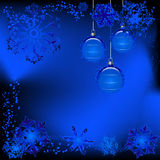 Winter design stock illustration