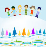 Winter design Royalty Free Stock Images