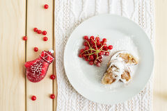 Winter dessert Royalty Free Stock Images