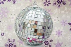 Winter disco ball Royalty Free Stock Photos