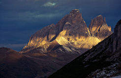 Winter Dolomites Royalty Free Stock Images