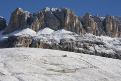 Winter in Dolomites Royalty Free Stock Photography