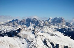 Winter Dolomites Royalty Free Stock Photos