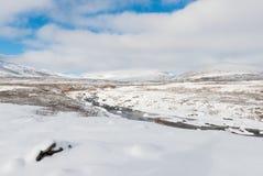 Winter Dovrefjell Stock Image