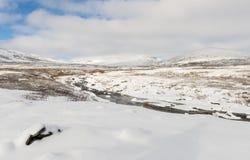 Winter Dovrefjell Norway Royalty Free Stock Photo