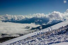 Winter Dragobrat Ukraine. Dragobrat Ukraine. Alpine scenic Ski resort Royalty Free Stock Images