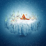 Winter dream royalty free illustration