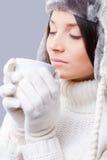 Winter dreaming. Stock Photos