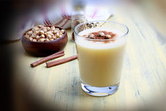 Winter drink. It is a winter drink produced from Boza, millet, water and sugar. It is one of the oldest known Turkish drinks Royalty Free Stock Photo