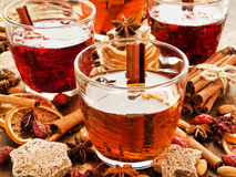 Winter drinks Royalty Free Stock Photo