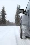 Winter Driving Royalty Free Stock Image