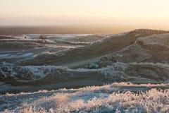 Winter dunes3 Stock Image
