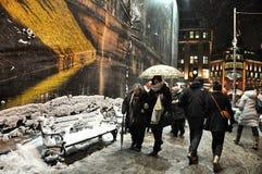 Winter Dusseldorf Stock Images