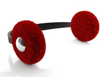 Winter earmuff Stock Image