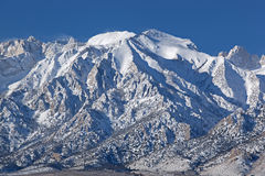 Winter, Eastern Sierra Nevada Mountains Royalty Free Stock Photos