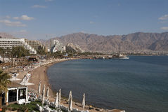 Winter in Eilat Royalty Free Stock Images