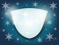 Winter emblem Stock Photography