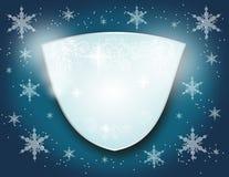Winter emblem Stock Photography