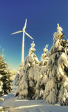 Winter energy Stock Photography