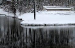 Winter in English Garden, Munich Stock Photography