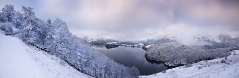 Winter in the English Lake District royalty free stock photos