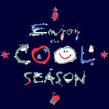 Winter - Enjoy the Cool Season. Stock Photos