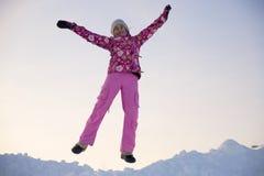 Winter entertainments Stock Photos