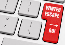 Winter-Entweichen Lizenzfreie Stockfotos