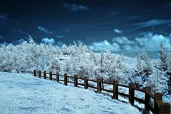 Winter in Equator Stock Photos