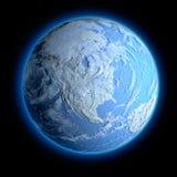 Winter-Erde Stockbilder