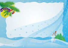 Winter etude Stock Image