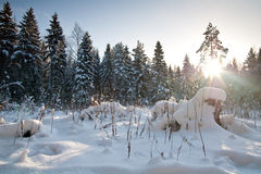 Winter in Europe Stock Photo
