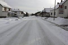 Winter in europe germany saarland Stock Image