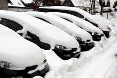 Winter in europe germany saarland Stock Photo