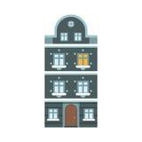 Winter Europe House Stock Photo