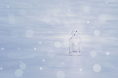 Winter evening. Royalty Free Stock Images