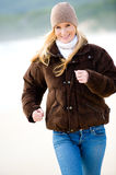 Winter Exercise Royalty Free Stock Images