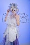Winter Fairy Stock Image