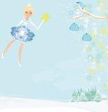 Winter fairy Stock Photo