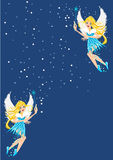 Winter Fairy vector illustration