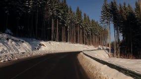 Winter fairy tale. stock footage