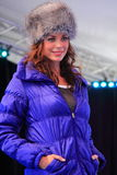 Winter fall new collection runway royalty free stock image