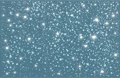 Winter falling snow background. Design element. stock photography