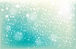 Winter falling snow background royalty free stock photography