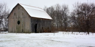 Winter on the farm Royalty Free Stock Photography
