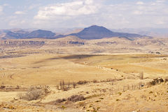 Winter farmlands near Clarens Royalty Free Stock Photo