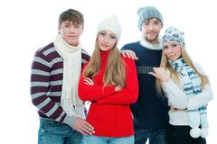 Winter fashion Royalty Free Stock Photography